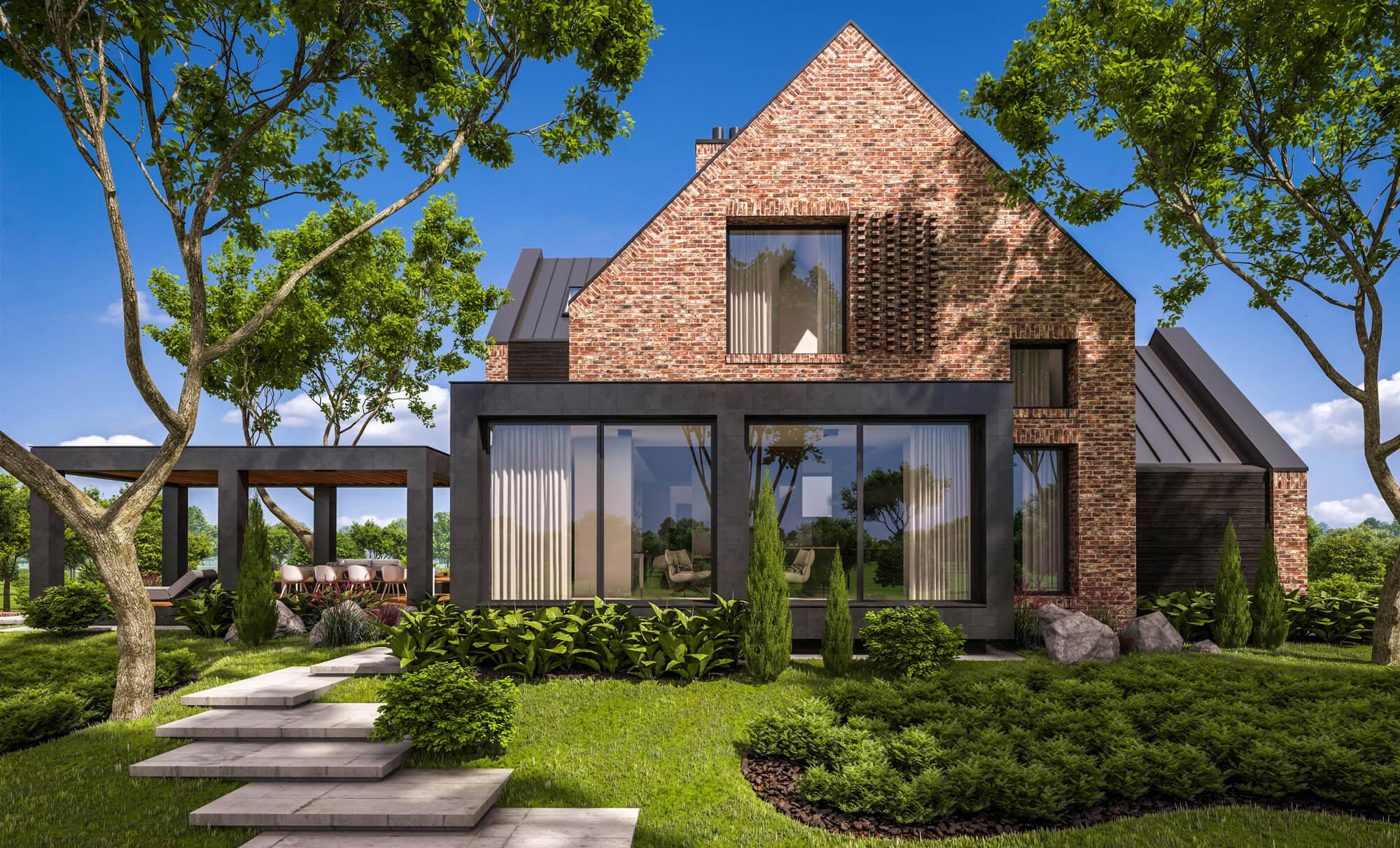 New Build Garden Design
